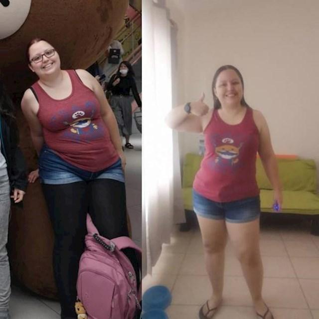 """9. """"Smršavila sam 12 kila i napokon više ne izbjegavam ogledala!"""""""