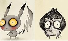 Ovako bi izgledali pokemoni da ih je nacrtao Tim Burton