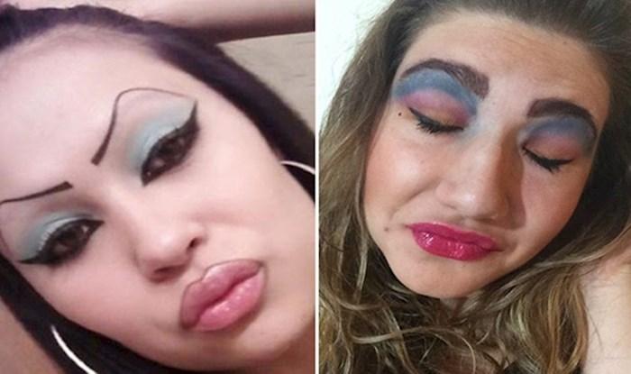 20 katastrofalnih make up promašaja koji vam neće tako lako izaći iz glave