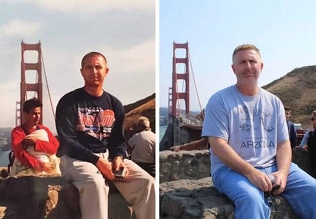 """""""Fotkao sam tatu na istoj lokacji, uz 10 godina razlike."""""""
