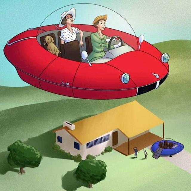 17. Ljudi su velike nade polagali u leteće automobile. Nažalost, ništa od toga...