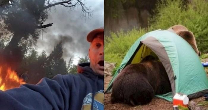 20+ ljudi koji su otišli na kampiranje i doživjeli nezgode zbog kojih im se smije cijeli internet