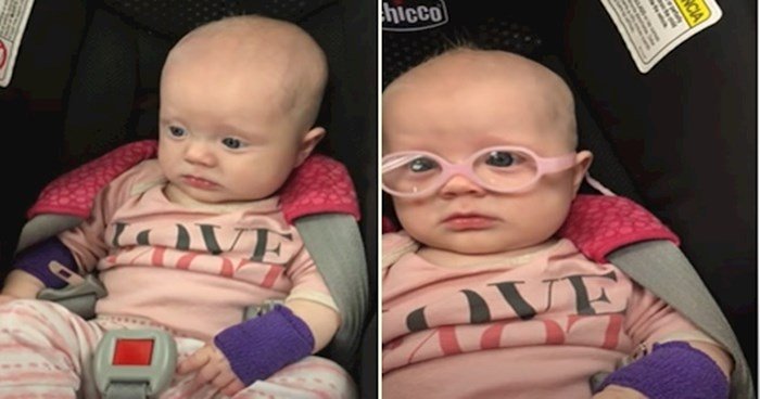 VIDEO Beba je dobila naočale i prvi put jasno vidjela majku, rastopit će vas njezina reakcija