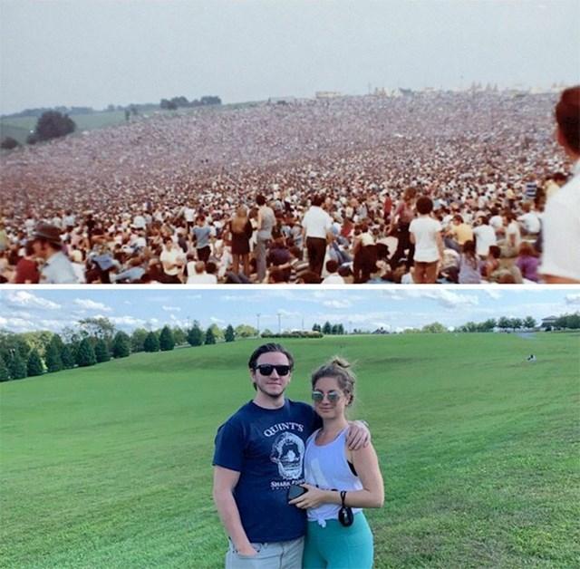 19. Livada na kojoj se održavao Woodstock, 1969. i danas