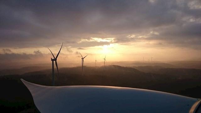 3. Radim na održavanju vjetrenjača u Švedskoj, pogled je nevjerojatan.