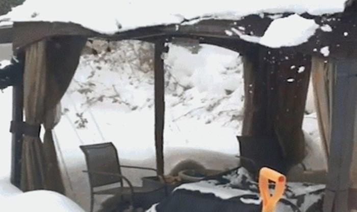 Evo zašto nije baš pametno kampirati dok pada snijeg
