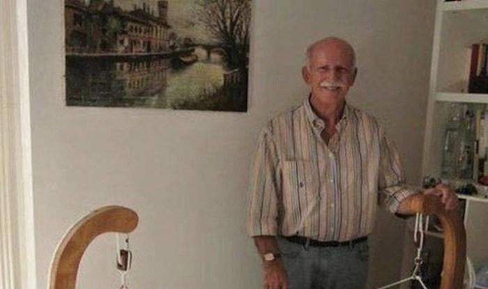 Kreativni djed izradio je svojem unuku kolijevku kakvu još niste vidjeli
