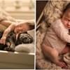 Neodoljive fotke beba koje se grle sa životinjama otopit će i najhladnija srca