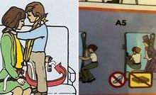 20 uputa za sigurno letenje koje djeluju kao da se netko dobro našalio