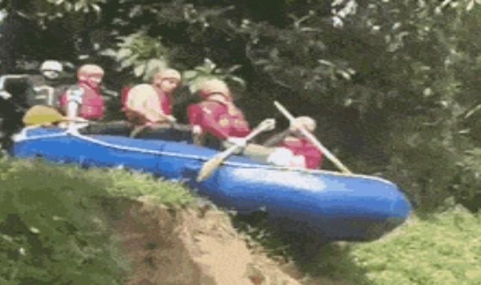 Kakav fail; ekipa se pripremila za adrenalinski rafting, ali nije im bilo suđeno