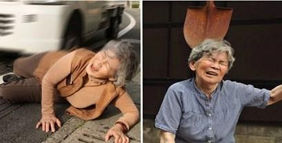 Ova urnebesna bakica iz Japana snima prilično čudne autoportrete