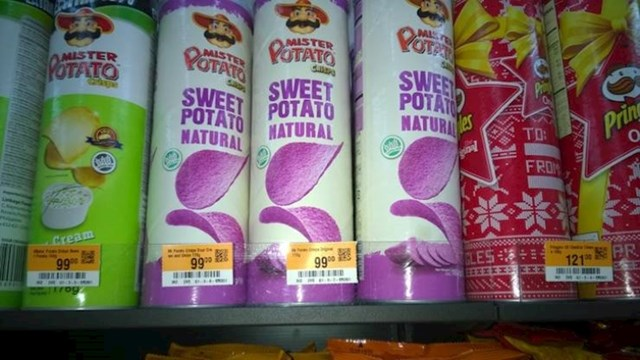 12. U Kini postoji ljubičasti čips od batata koji bi navodno trebao biti prirodan.