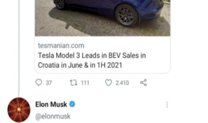 Elon Musk je jednim komentarom o Nikoli Tesli pokrenuo okršaj između Hrvata i Srba na Twitteru