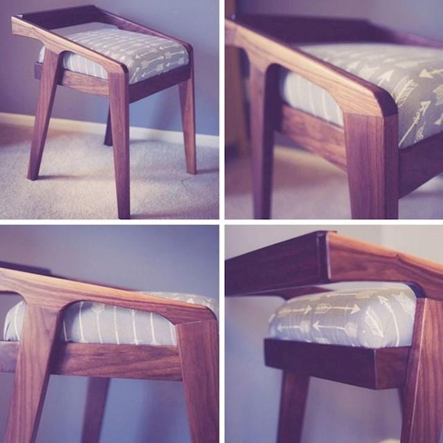 3. Napravila sam ove stolice koje sam vidjela u katalogu.