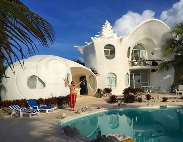 5. Kuća koju smo bukirali u Meksiku izgleda kao školjka!