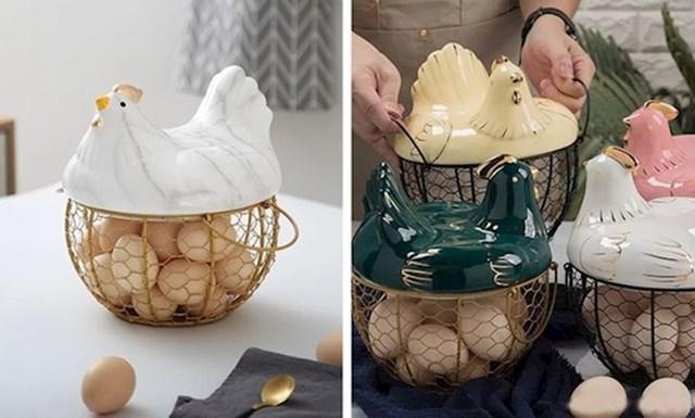 4. Košara za jaja koju bi svatko poželio.
