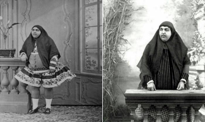 Ovo je princeza Zahri, žena koja je u 19. stoljeću bila simbol ljepote u Perziji