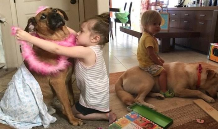 15 smiješnih fotki koje pokazuju koliko ljubimci mogu imati strpljenja kad su djeca u pitanju