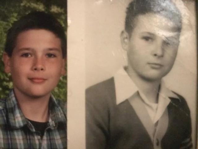 17. Moj djed i ja kad smo bili u istim godinama.