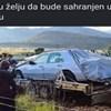 Tisuće ljudi smiju se njegovom brutalnom komentaru na članak o tipu kojeg su pokopali s Mercedesom