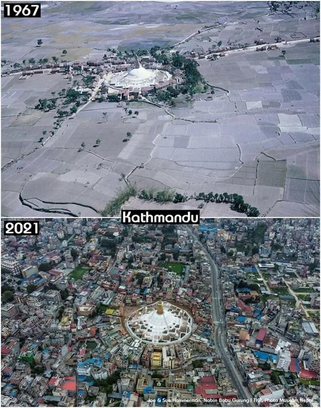 17. Glavni grad Nepala nekad i sad