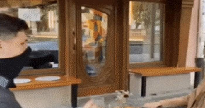 Korona mijenja sve, u ovom restoranu čiste stolove na do sad neviđen način