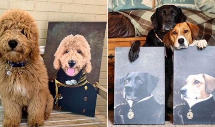 17 pasa koje vlasnici toliko vole da su im odali počast kraljevskim portretima