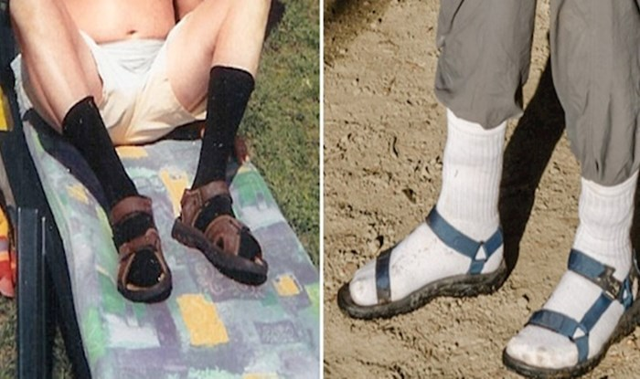 20 fotografija koje će vas podsjetiti da nikad ne nosite sandale na čarape
