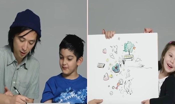 VIDEO Djeca su ilustratoru opisala što je ljubav, a on je njihove riječi pretvorio u umjetnost
