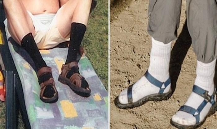 20 fotki koje će vas podsjetiti da ni u ludilu ne nosite sandale na čarape