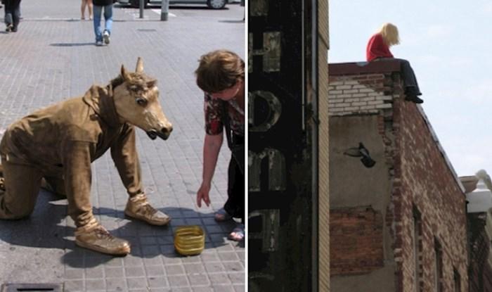 Kipar postavlja lutke u bizarnim situacijama na ulice i provocira prolaznike