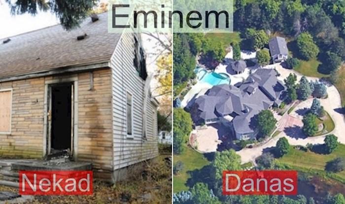 Poznati nisu uvijek živjeli na visokoj nozi, ovako izgledaju kuće u kojima su proveli djetinjstvo