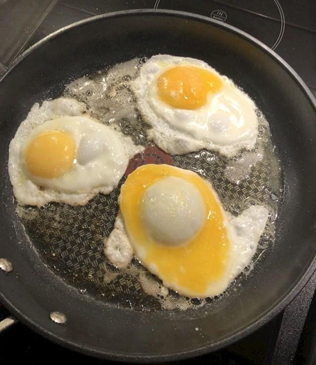 7. Zanimljiva situacija s jajima.