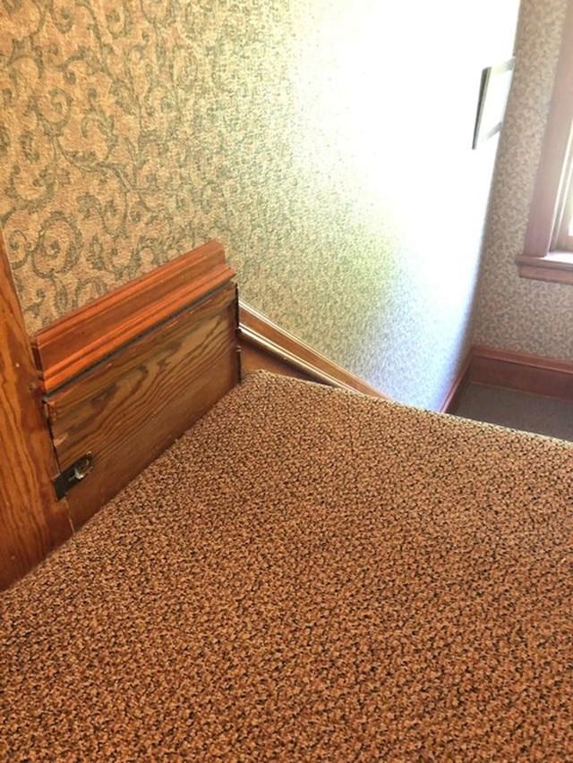 3. Moja kuća stara je 125 godina i u stubišu se nalazi čudni mali otvor...