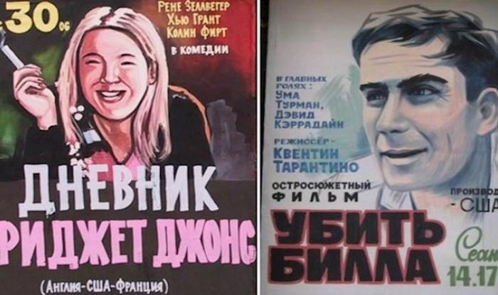 18 ekstremno čudnih plakata za filmove pronađenih u Rusiji