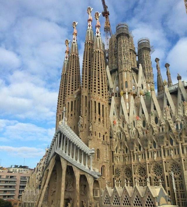 15. Pogled iz našeg apartmana u Barceloni.😍