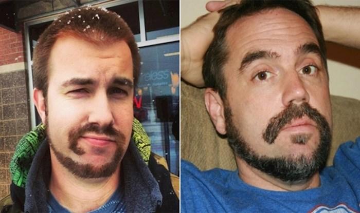 """Postoji suludi novi """"trend"""" oblikovanja brade, evo najboljih primjera"""