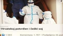U Hrvatskoj se pojavio češki soj korone, evo najjačeg komentara na tu vijest
