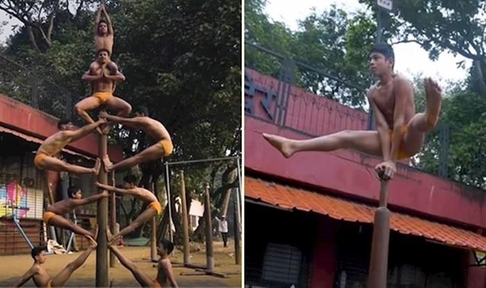 VIDEO Ovo je Mallakhamb, indijski sport koji kombinira jogu i ples na šipci