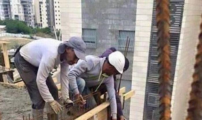 Građevinski radnici napravili su nešto od čega će vam zastati dah