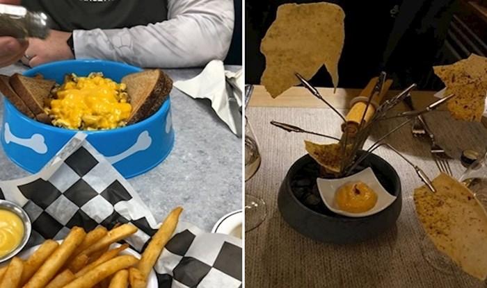 20 gladnih ljudi koji su zbog načina serviranja hrane ostali bez apetita