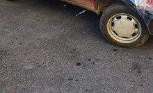 Tip iz Šibenika odlučio je zaštititi auto od hladnoće na pomalo neobičan način