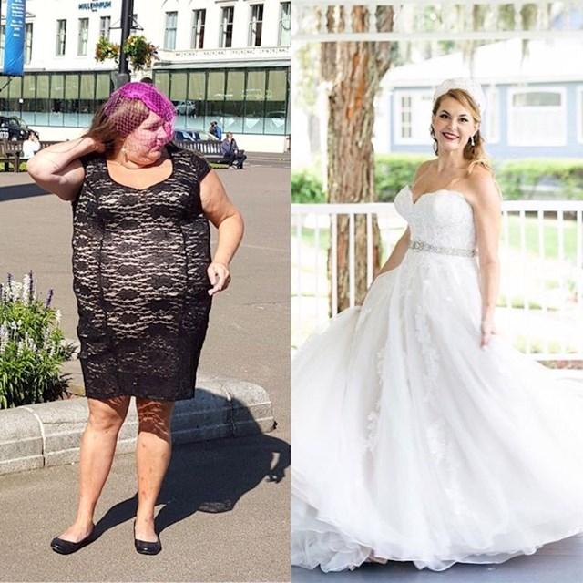 """""""Odlučila sam se transformirati za dan svojeg vjenčanja."""""""