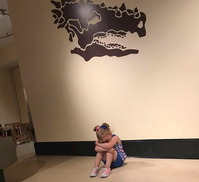 """#9 """"Ljuta je jer se muzej zove Dječji muzej, a ne Muzej dinosaura."""""""