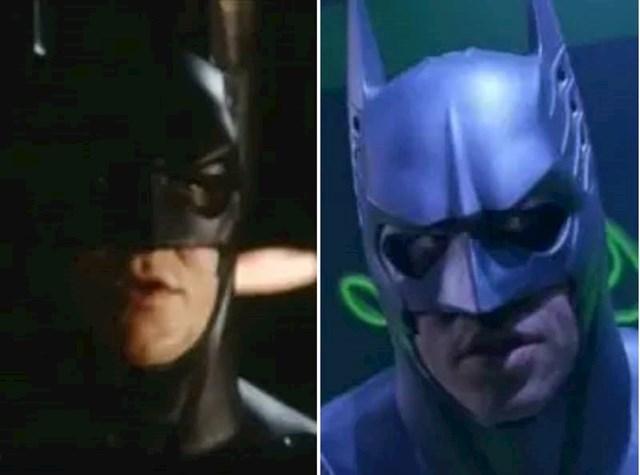 7. Christian Bale je audiciju za prvi dio Batmana odradio u starom odijelu Vala Kilmera