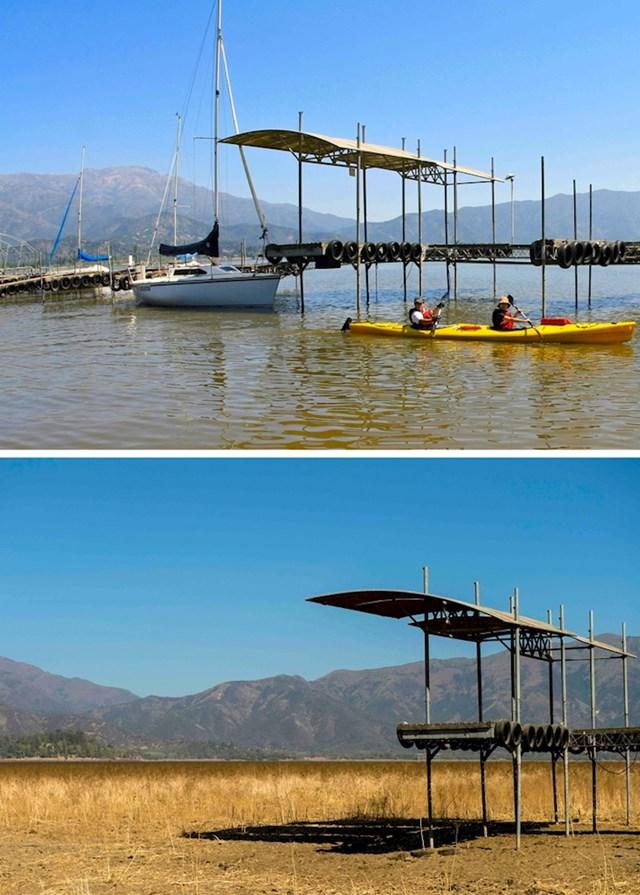 8. U samo 6 godina jezero Aculeo nestalo je kao da ga nikad nije niti bilo.