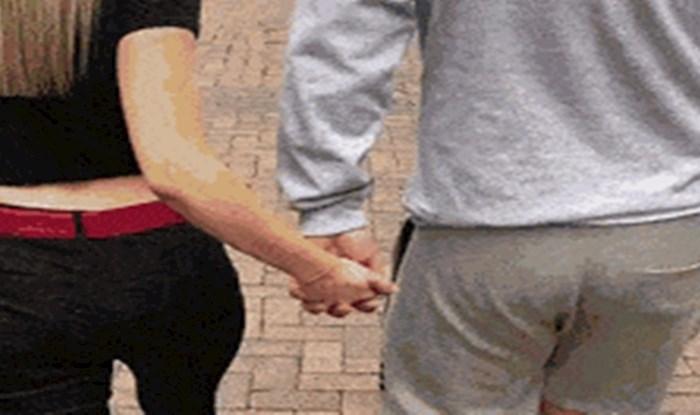 Pripremili su genijalan prank zaljubljenom paru koji se držao za ruke, ovo je urnebesno