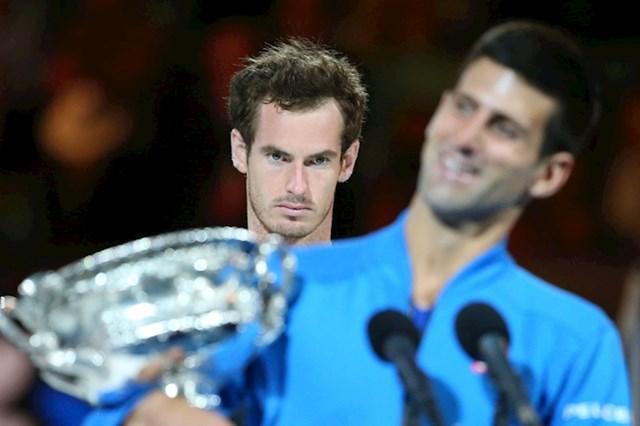 23. Da postoji natjecanje u ljubomori Andy Murray sigurno bi osvojio trofej.