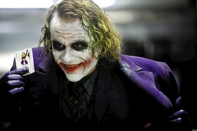 8. Kada je objavljeno da će Heath Ledger glumiti Jokera u Vitezu tame ljudi su se počeli buniti