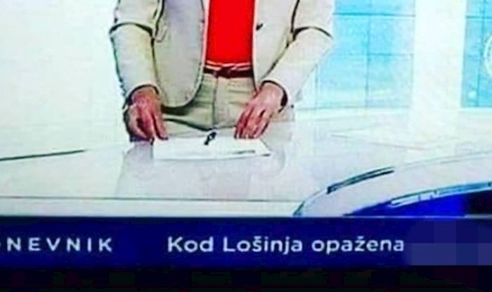 Cijela Hrvatska smije se urnebesnoj grešci koja se pojavila u Dnevniku HRT-a